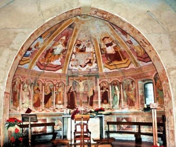 Chiesa Santo Stefano Bizzozero.Maestro Di Bizzozero