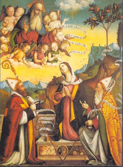Iconografia agostiniana l 39 immacolata concezione for Francesco marchesi