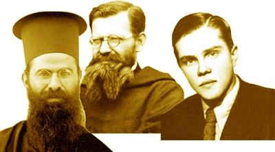 Immagine dei tre martiri assunzionisti bulgari